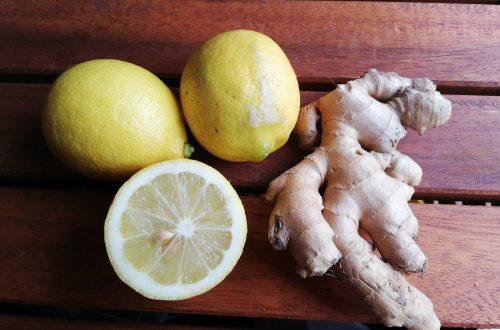 Ingwer-Zitronenwasser